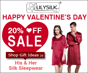 Save 20% On Silk Pajamas For Him & Her. Valentine Day Gifts & Free US Ship! Ends February 14th,2015. Order now!