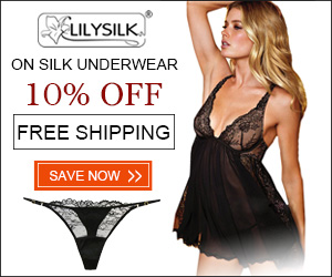10% off On Silk Underwear at Lilysilk.com.FREE Shipping!
